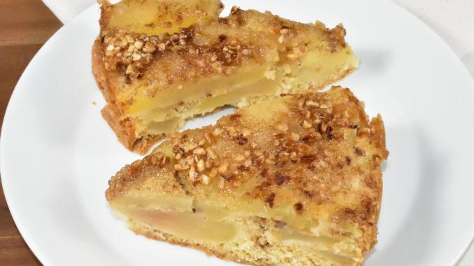Ein Klassiker unter den Obstkuchen neu aufgelegt - schmeckt lecker nach Haselnusskrokant und Zimt.