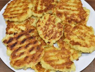Für den schnellen Hunger zwischendurch - Kartoffeltaler aus Knödelteig.