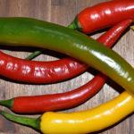 Peperoni - eine von vielen Chilisorten.
