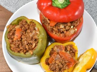 Auch Veggies können Dekadenz: Gemüse mit Gemüse gefüllt ! ;-)
