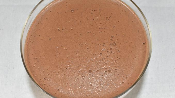 Serviervorschlag: Schokopudding pur... | Der schmeckt auch ganz ohne alles - intensiv schokoladig.