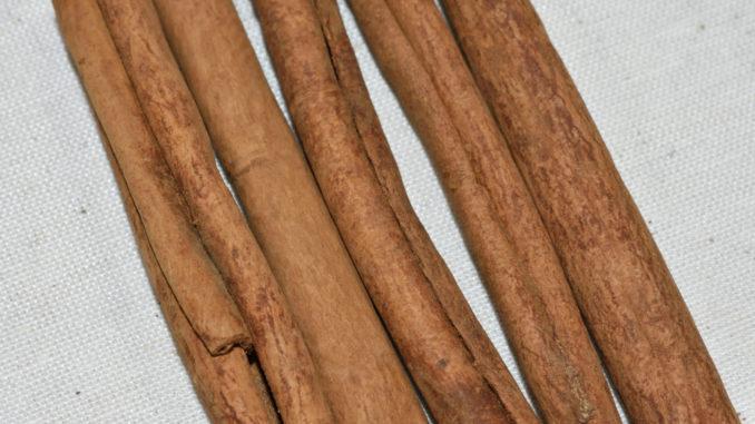 Cinnamomum burmannii - oder einfacher: Indonesischer Zimt.