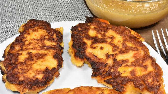 Kloßteig kochen kann jeder, ihn braten aber nur Veggie Tobi: Meine Kartoffel-Bratlinge mit Gemüse !