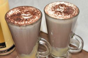 Für kalte Wintertage genau das richtige Getränk zum Aufwärmen - eine heiße Oma!