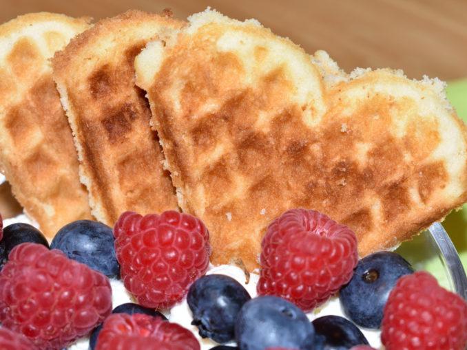 Ja, die schmecken wirklich so gut, wie sie aussehen. Pur, mit Früchten, Sahne, Vanilleeis... mmmhh!