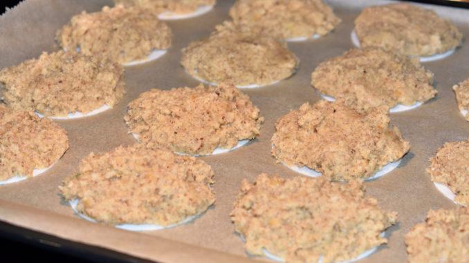 Die Lebkuchen: Rein in den Ofen!