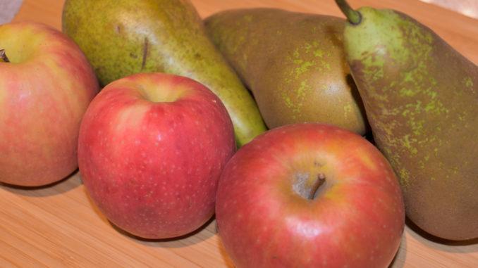 Apfel-Birnen-Kuchen: Seine Namensgeber