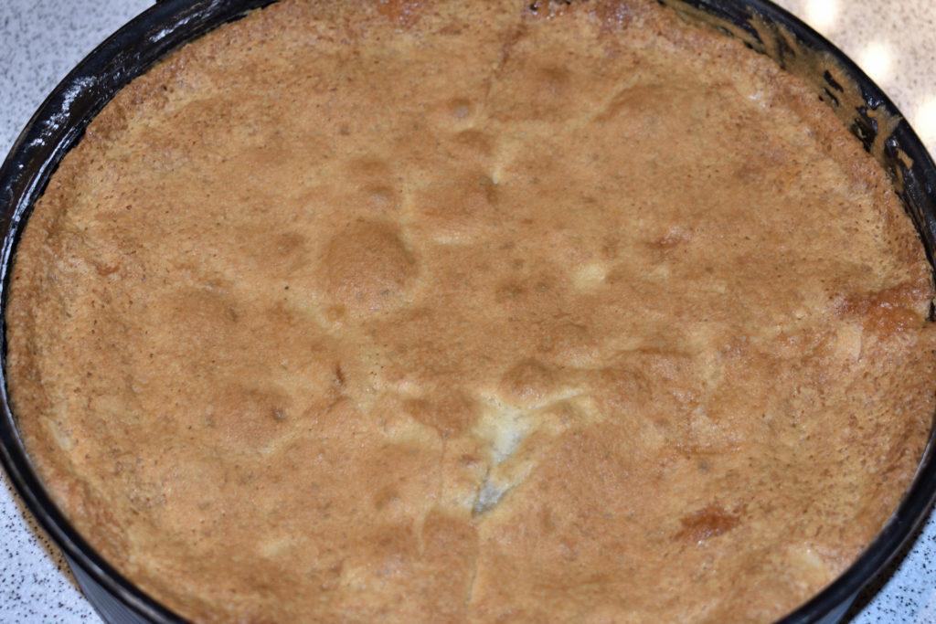Schritt 5: Frisch aus dem Ofen... | Bestimmt sieht Dein Kuchen ebenso perfekt gebräunt aus. Mmh... und erst der feine Duft nach Zimt! :-) Wirklich zum Reinbeißen!