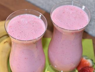 """""""Shake it, Baby!"""" - frische Früchte machen diesen leckeren Drink zu einer echten Vitaminbombe!"""