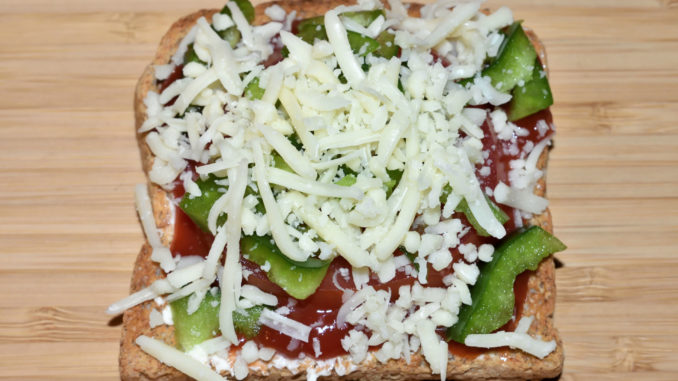Pizzatoast Italien - so wird's gemacht